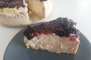 Cheesecake la cuptor cu branza de vaci