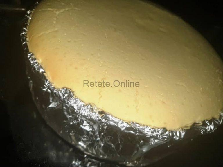 Coace cheesecake-ul la foc mic