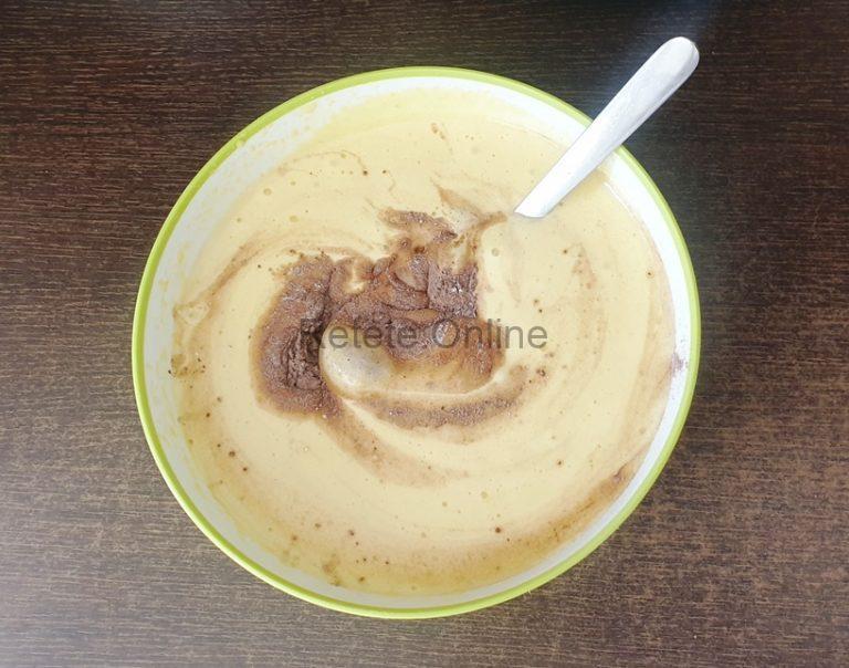 Pregateste blatul de cacao